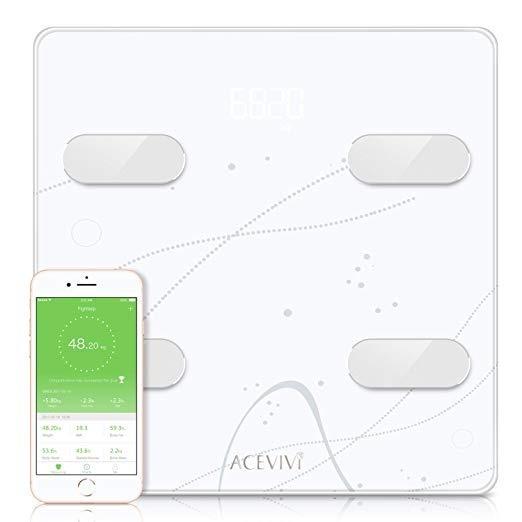 Bascula Inteligente Acevivi Smart Body Fat Scale Bluetooth