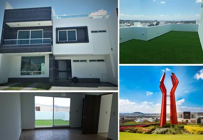 Preciosa Residencia En Lomas De Juriquilla, 4ta Rec En Pb..