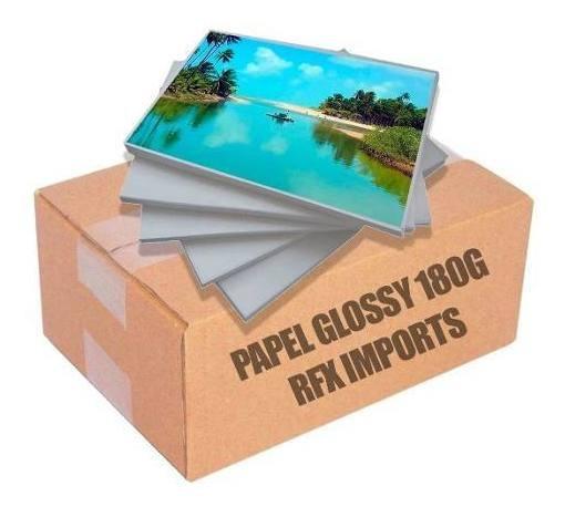 Papel Fotográfico Premium A4 Glossy 180g 2000 Folhas