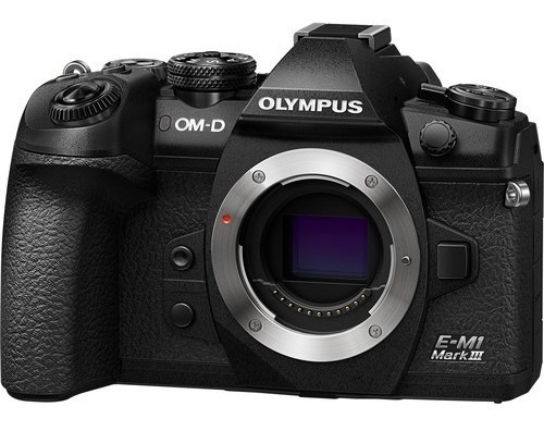 Olympus Omd Em1 Mark Iii (3) Mirrorless Camera Md M1