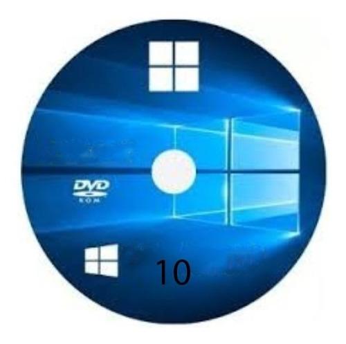 Cds Wind©ws 10 Home Singles Pro + Drive E Office 32/64 Novo