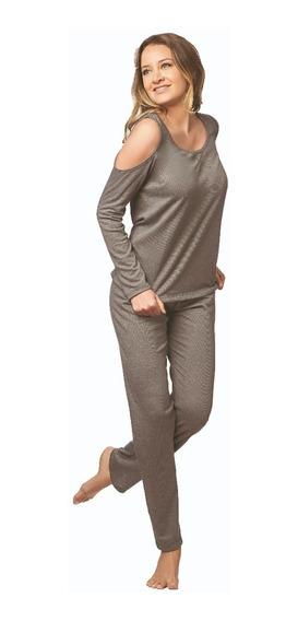 Pijamas Mujer Invierno Cocot Art 7334.