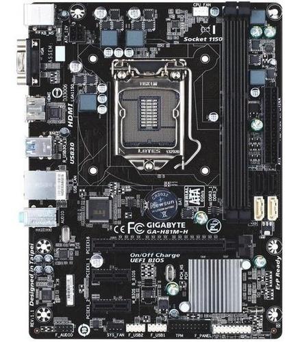 Kit Upgrade H81m-h + I5 4440 + 12gb De Ram Ddr3+ Teclado Mec