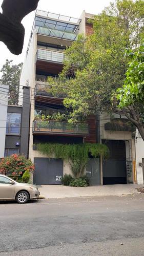 Imagen 1 de 14 de Penthouse Nuevo En Colonia Del Valle Sur.