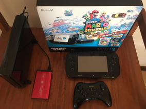Nintendo Wii U 32gb + Disco Duro 500gb