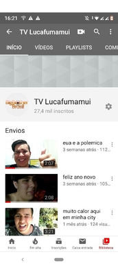 Vendo Youtube 27,6k