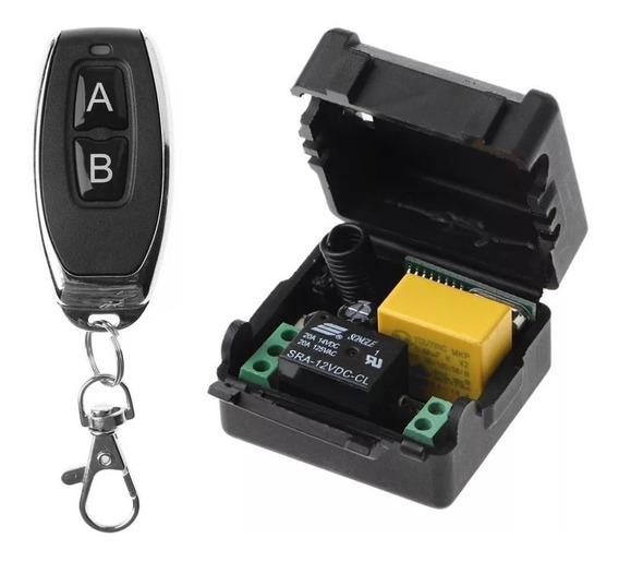 Rele Rf 433 1ch Ac110/220v + Controle Remoto