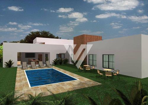 Imagem 1 de 4 de Casa Com 3 Dormitórios À Venda - Condomínio Residencial Lago Azul Golf Club - Araçoiaba Da Serra/sp - Ca1965