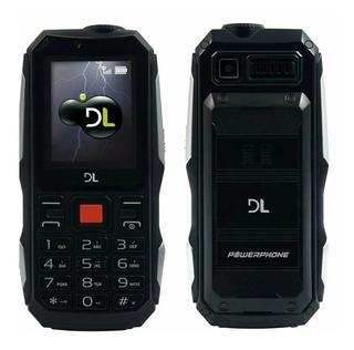 Celular Dl Powerphone Dual Chip Até 30dias De Bateria 4600ma