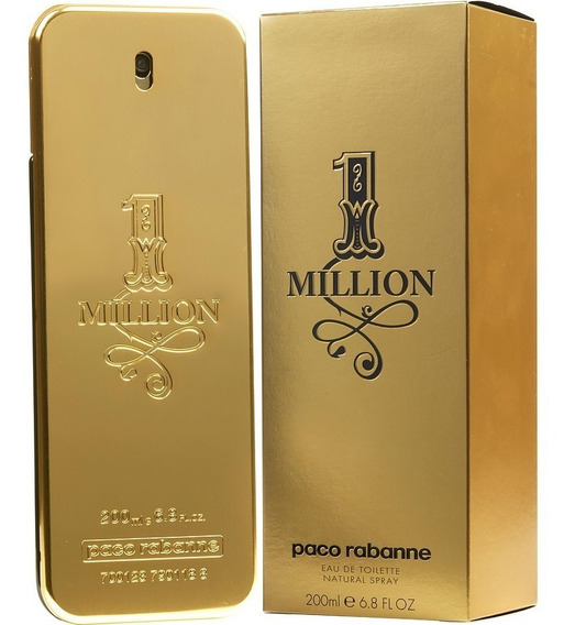 Perfume One Million 200ml - Paco Rabanne Original Lacrado