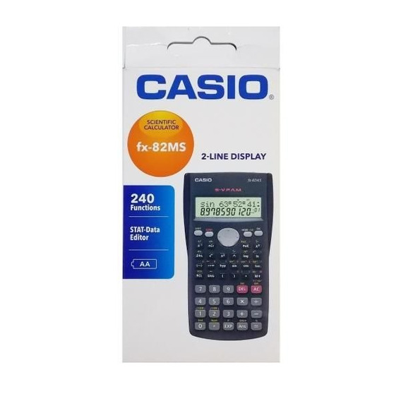 Calculadora Ciêntifica Casio Fx-82ms
