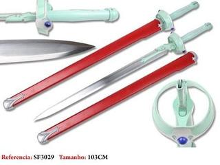 Espada Cosplay Anime Kirito Asuna Yuuki 103cm Aco Oriental