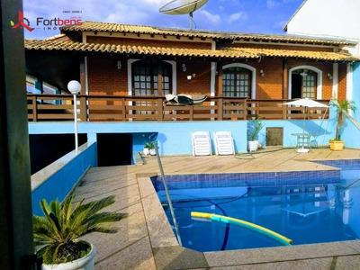 Casa Com Piscina, 3 Dormitórios À Venda, 297 M² Por R$ 750.000 - Morro Grande - Caieiras/sp - Ca0681