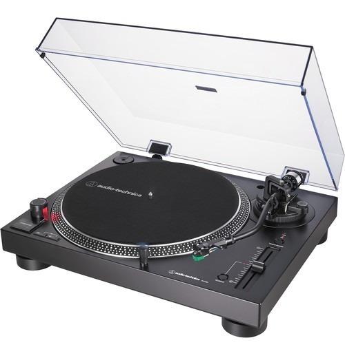 Audio-technica At Lp120x Turntable Com Usb (preto) Toca Disc