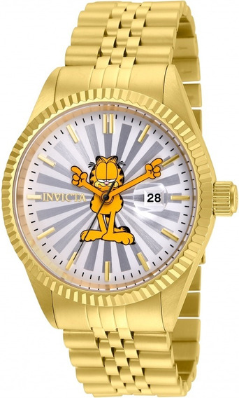 Reloj Invicta Garfield 24873 Limited Edition Gold Dorado Oro