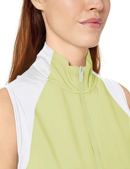 Chaleco adidas Mujer De Golf Cierre Completo Original
