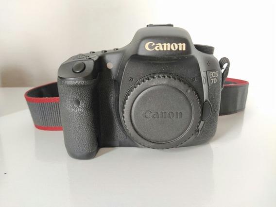 Camera Canon 7d Dslr Profissional Unico Dono 31742 Clicks
