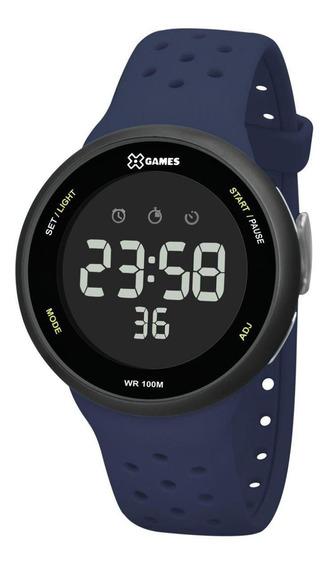 Relógio X-games Xmppd544 Pxdx Masculino Azul