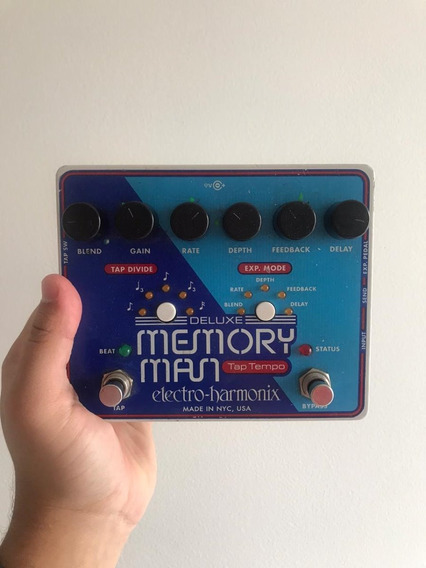 Pedal Deluxe Memory Man Tap Tempo Chip Panasonic Mn3005