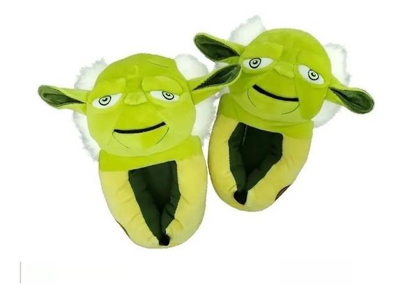 Pantufa 3d Yoda Star Wars Ricsen/ Frete Gratis