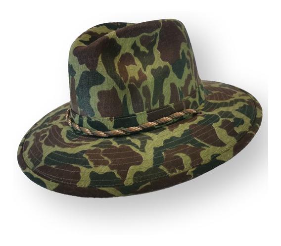 Sombrero De Gabardina Caza Y Pesca, Camuflaje Militar
