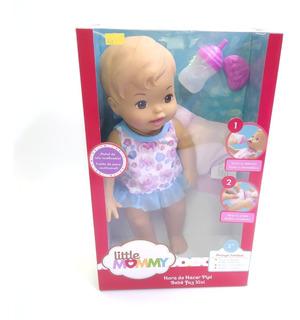 Muñeca Little Mommy Hace Chichí Accesorios