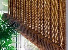 Persiana Enrollable Artesanal De Bambú