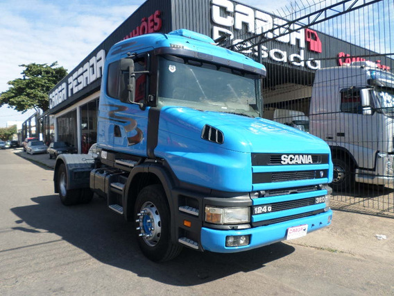 Scania T124 360 4x2 1998 Ar-cond= T 124 400 420 Volvo Nh Fh