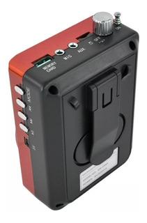 Megafono Bluetooth Mini Bocina Portatil Usb Altavoz /e