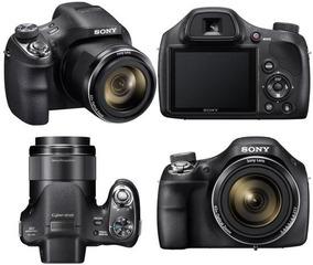 Câmera Sony Dsc-h400 De 20.1mp C/ Lcd 3.0 Zoom 63 X Digital