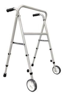 Andador Ortopedico Tijera Plegable C Rueda Aluminio Massuar