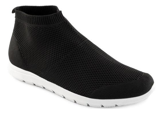 Tênis Sock Sneaker Knit Sapato Show 15723