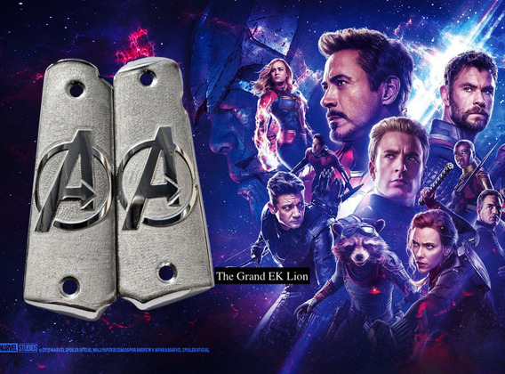 Cachas Colt 1911 38 & 45 Super Avengers End Game