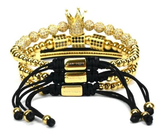 Pulseras Royal Gold Manique