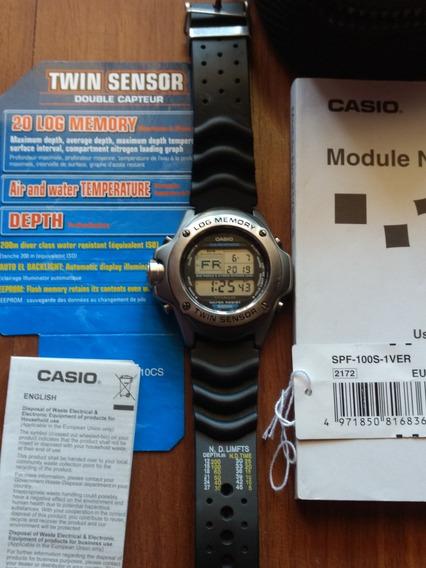 Casio Spf-100s-1 Ver Modulo 2172 Titanium