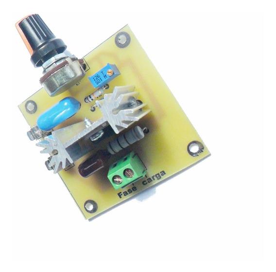 Controlador Motor Ac 110/220 2000w Dimmer Luminosidade