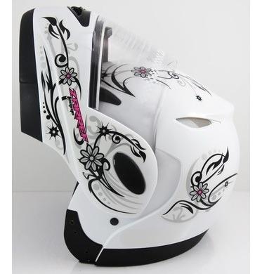 Capacete Taurus Zarref V4 Femme Branco 56
