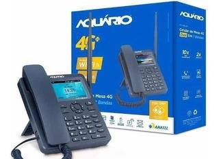 Celular Rural De Mesa 4g 7 Bandas Com Internet Wi-fi Aqua