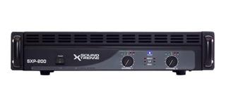 Amplificador Potencia Soundxtreme Sxp 200 200w Oferta Cjf
