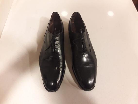 Zapatos De Hombre - Suela De Cuero- Talla 12 Americana-
