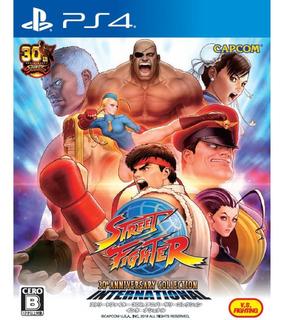 Street Fighter Ps4 30th Anniversary 12 Juegos Hoy! Leer 1°
