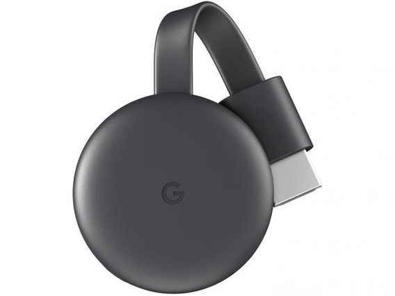 Novo Chromecast 3 Google Full Hd Wi-fi/hdmi Pronta Entrega