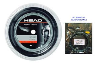 Cuerda Individual Head Hawk Touch Pro 1.25 Set 12 Mts. Tenis