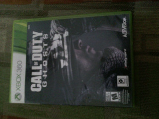 Call Of Duty Ghost Xbox 360 Usado