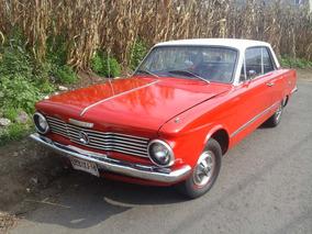 Valiant Acapulco 1964 Con Placas De Auto Antiguo A Tratar