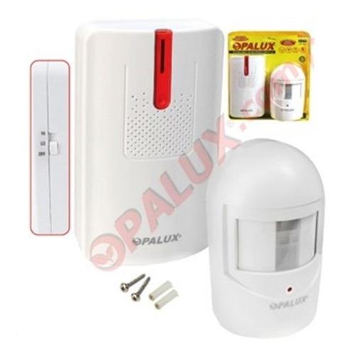 Sensor De Movimiento Con Alarma Opalux Op-9816l + Delivery