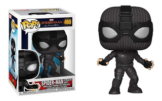 Funko Pop Spiderman #469 Stealth Suit Far Frome Home
