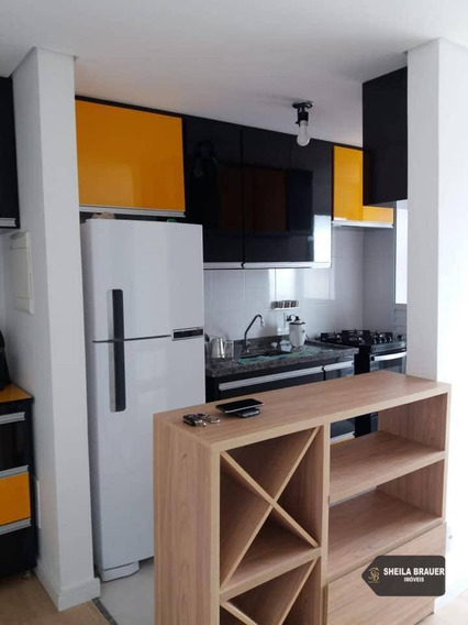 Apartamento Com 2 Dormitórios Para Alugar, 55 M² Por R$ 1.700,00/mês - Jardim Imperador - Guarulhos/sp - Ap0003