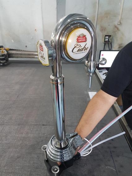 Torneira Chopeira Chopp Cerveja Torre Naja Stella Artois