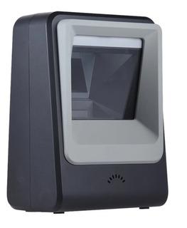Lector Escáner Código De Barras Omnidireccional Usb Con Base